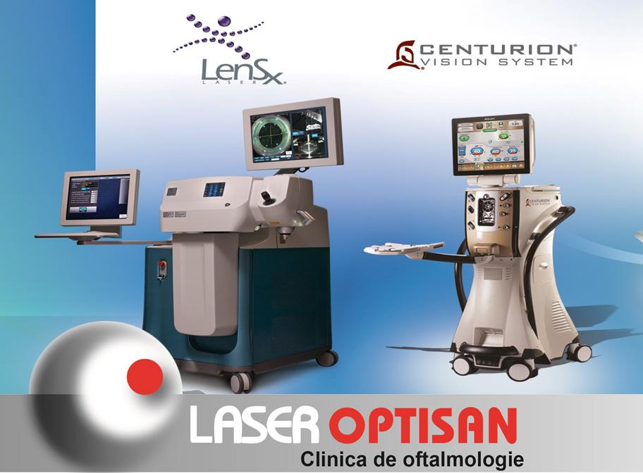 LenSx - cel mai performant laser pentru operarea cataractei